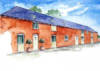Barn Conversion to Luxury Residential Development, Little Coton, Nr Bridgnorth, Shropshire