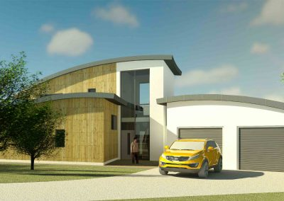 Passivhaus Detached Dwelling with Therapy Pool, Church Aston, Shropshire