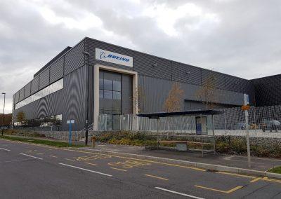 Building Conversion to Flight Training Centre, Crawley