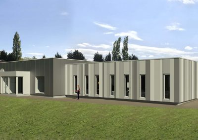 Packaging Warehouse & Office Expansion, Highley