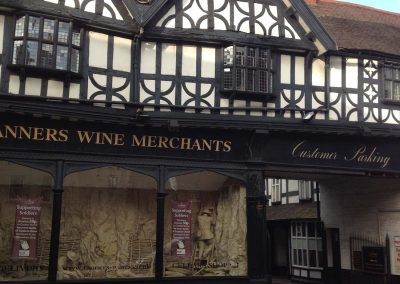 Wine Merchants Conservation & Refurbishment of Listed Building Portfolio, Shropshire