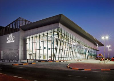 6 Bay Flight Training Centre Extension, Abu Dhabi, UAE