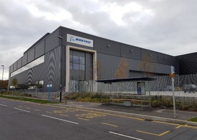 Building Conversion to Flight Training Centre, Crawley
