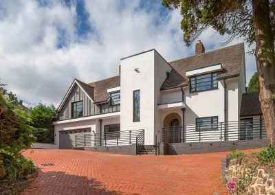 Extensive Conversion to Create Contemporary Art Deco Home, Wombourne, West Midlands