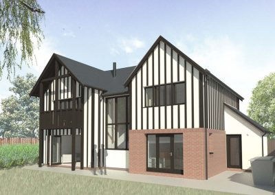 Low Energy Home on Narrow Town Centre Site, Newport, Shropshire